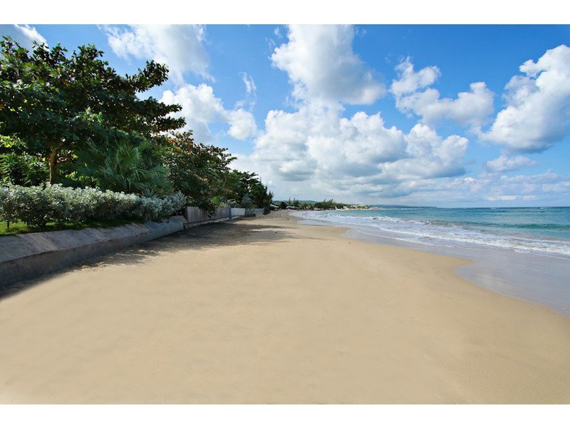 Just a few short steps from your front door is a beautiful white sand beach!