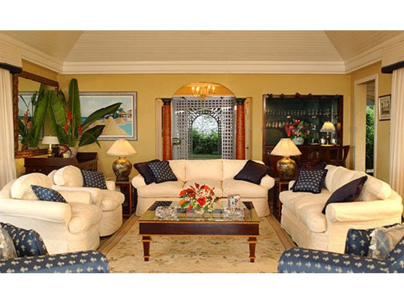 Vacation property villas in jamaica for Living room designs in jamaica